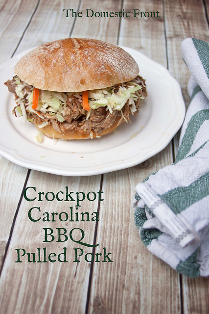 North carolina minced pork barbecue recipe