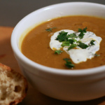 Butternut Squash Soup with Vadouvan