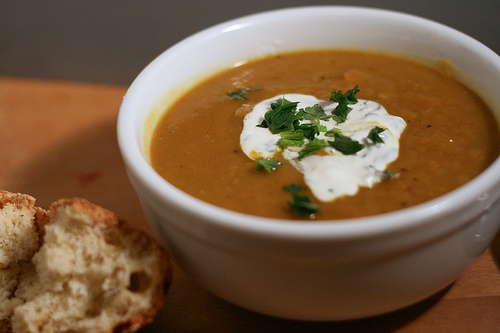 Bsquash soup 6