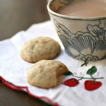 Cardamom Orange Teacake Cookies — Easy as 123