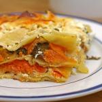 Savoury Sweets — Sweet Potato and Mushroom Lasagna