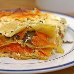 Savoury Sweets — Sweet Potato and Mushroom Lasagna