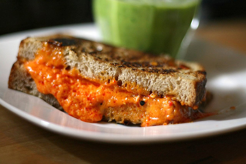 Grilled Pimento Cheese Sandwich Pimiento