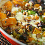Butternut Squash and Goat Cheese Gratin