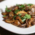 Tsumami – Sautéed Mushrooms