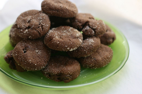 chewy chocolate chili cookies mexican aztec mayan