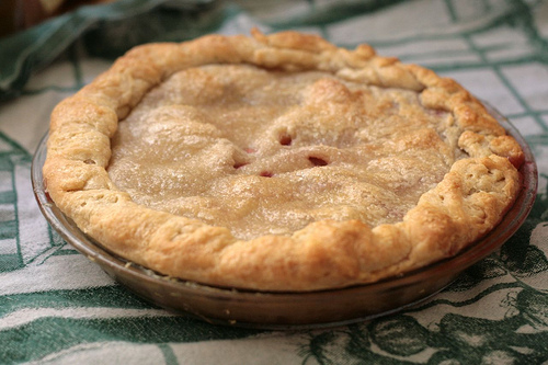 Plum Pie with Foolproof Crust