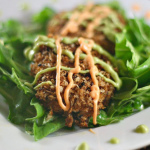 My Love Affair with Gourmet — Crab Cakes with Spicy Avocado Sauce