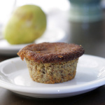 After School Snack — Gluten Free Pear Almond Muffins