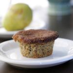 After School Snack — Gluten Free Pear Almond Muffins