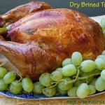 A Turkey You'll Want to Gobble — Dry Brined Roast Turkey