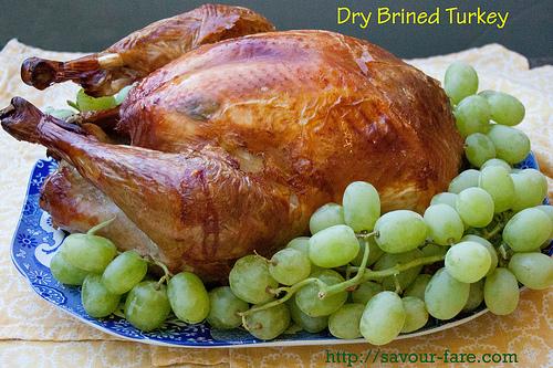 Dry Brined Roast Turkey 2