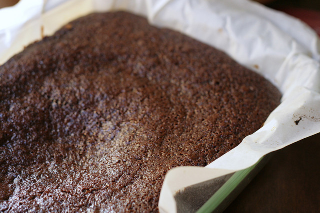 This easy cake recipe mixes quickly.