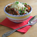 The One I've Been Waiting For — Easy Slow Cooker Chili