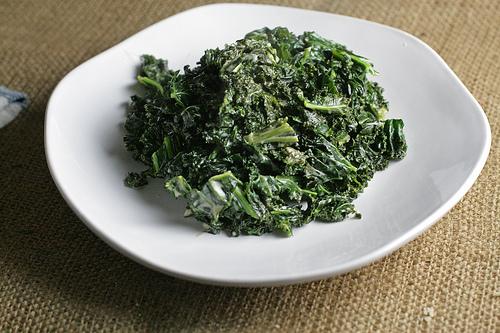 Creamed Kale 1