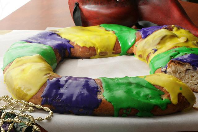 Mardi Gras Recipe Praline King Cake