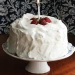 Strawberry Orange Cream Cake – Happy Birthday, The Domestic Front!