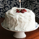 Strawberry Orange Cream Cake – Happy Birthday, The Domestic Front!