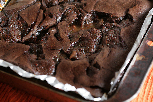 Bacon Chocolate Brownies