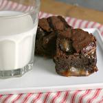 Bacon Salted Caramel Brownies