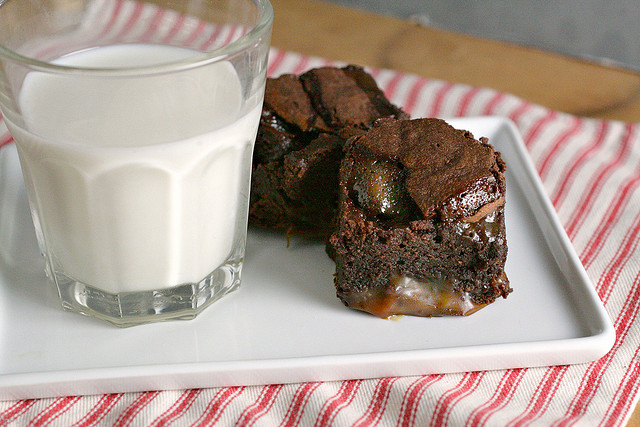 Bacon Chocolate Salted Caramel Brownies Salty Sweet