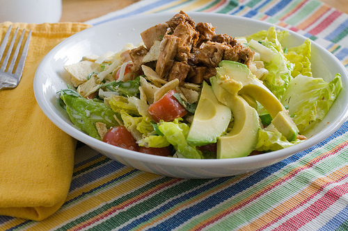 CPK Barbecue Chicken Chopped Salad