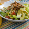 California Pizza Kitchen BBQ chicken chopped salad