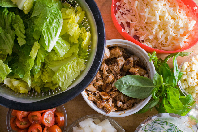 California Pizza Kitchen Barbecue Chicken Chopped Salad Ingredients
