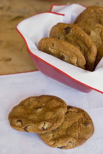 Chewy Brown Butter Chocolate Cookies