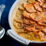 Spicy Sweet Potato Gratin — a different sort of Sweet Potato