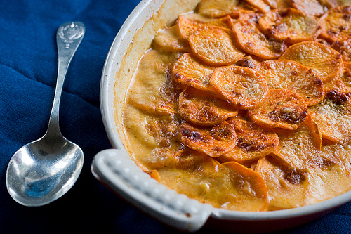 Sweet Potato Gratin 7