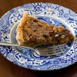 Easy Pie Crust and Maple Walnut Pie