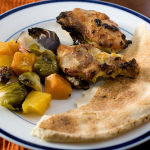 After — Curried Chicken Pan Roast