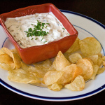 French Onion Dip — Homemade in the Crockpot