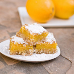 I'm Back! — Springtime and Lemon Bars