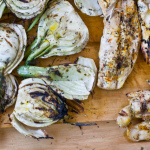 Provencal Grilled Chicken Breasts and Fennel