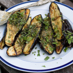 Serendipity — Grilled Eggplant with Mint