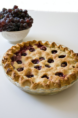 Thomcord Grape Pie