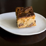 Christmas Cookies — Hazelnut Blondies