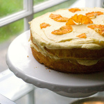 Moist Orange Layer Cake with Orange Buttercream