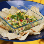 Pineapple Avocado Salsa with Jicama