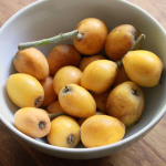 From my Garden:  Loquats, and a Loquat Crumble Recipe