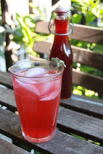 Berry Shrub Cocktail