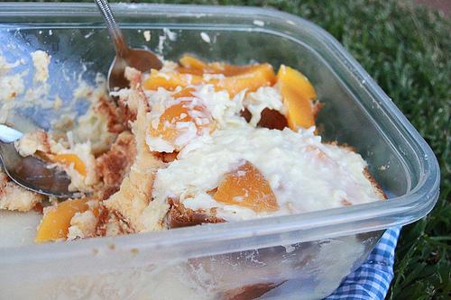 Coconut Mango Rum Trifle