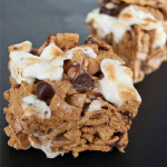 S'Mores Krispie Treats: the Bake Sale Sweet Spot