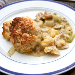 Chicken Cobbler Pot Pie