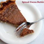 Spiced Cocoa Buttermilk Pie