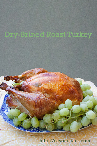 Dry Brined Thanksgiving Turkey
