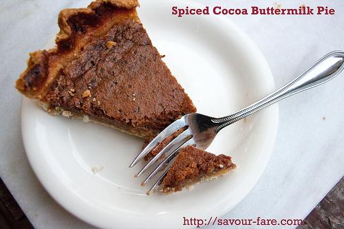 Spiced Cocoa Pie