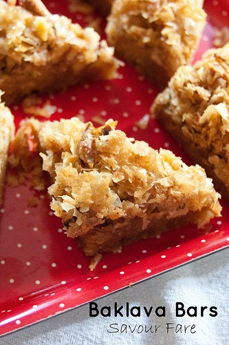 Baklava Bar Cookie